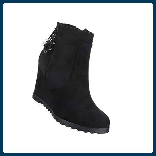 Schuhe Lederoptik Schlupf-Stiefel rJV1jGBIor