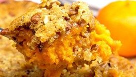 Sweet Potato Casserole Copycat Ruth's Chris #sweetpotatocasserole
