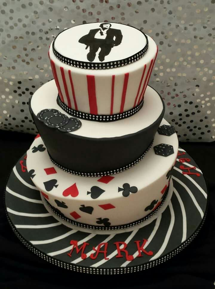 James Bond Casino Royale Birthday Cakes James Bond