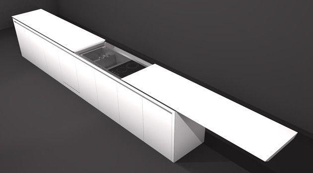 sliding countertop....boffi