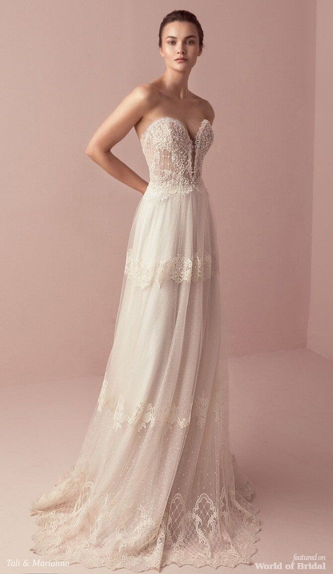 Tali & Marianna 2018 Wedding Dress #weddingdress | I do. | Pinterest ...