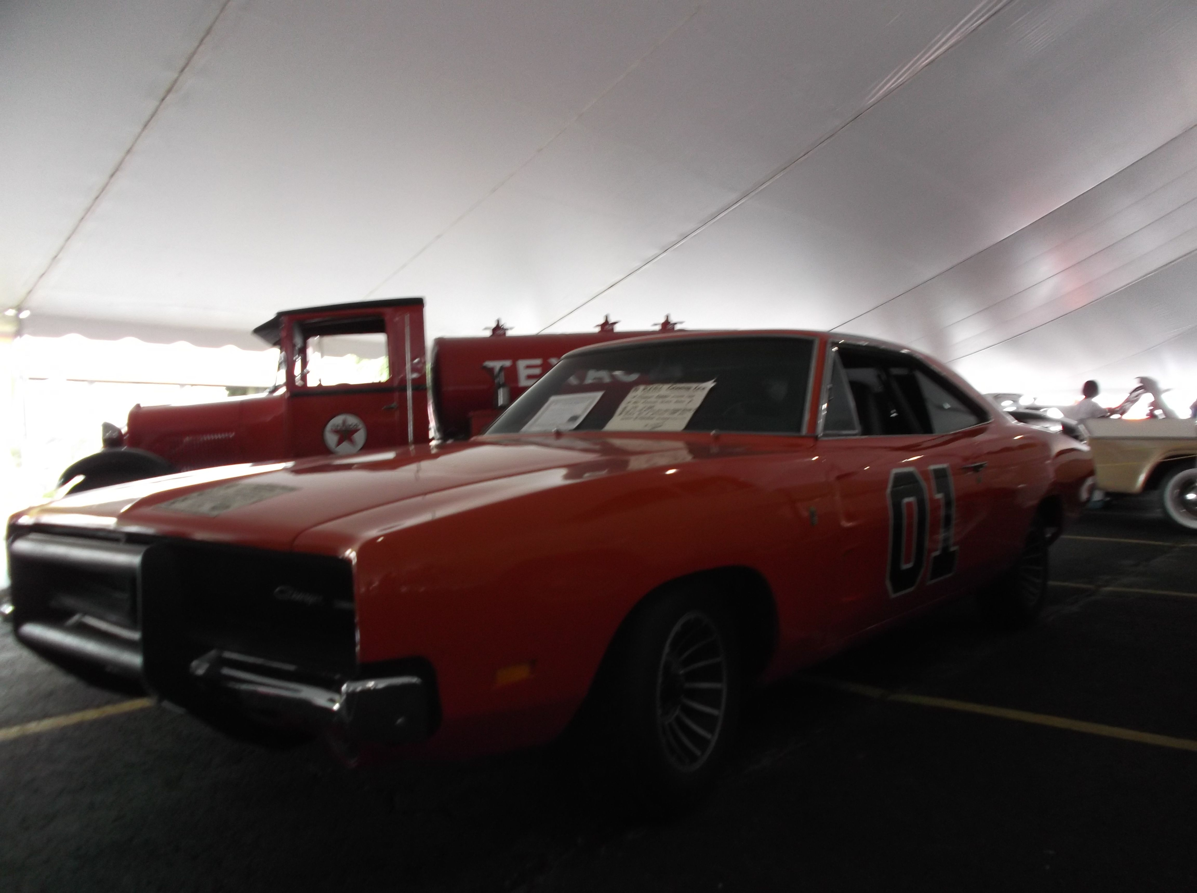 Steve hopkins general lee one of the original promo cars for the first movie