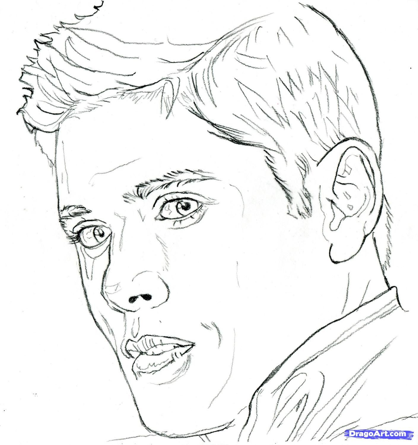 Supernatural Coloring Pages To Download And Print For Free