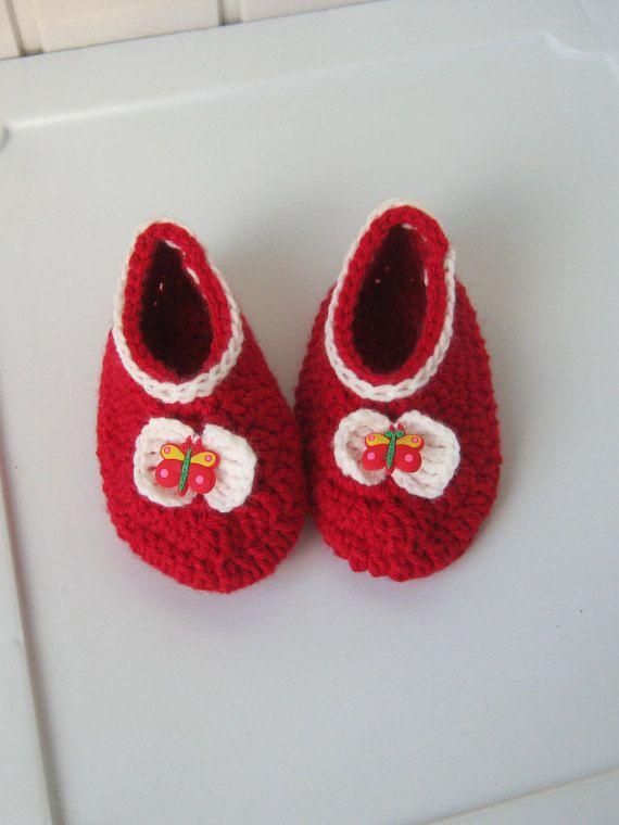 June Finds 25 by gicreazioni on Etsy   Babyschuhe, Gehäkelte