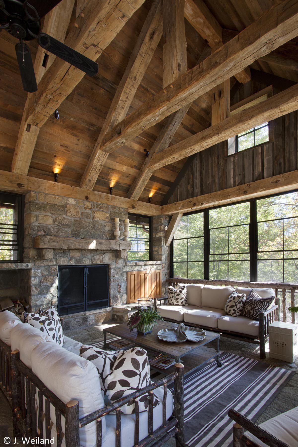 Timber Frame Home Interior Design