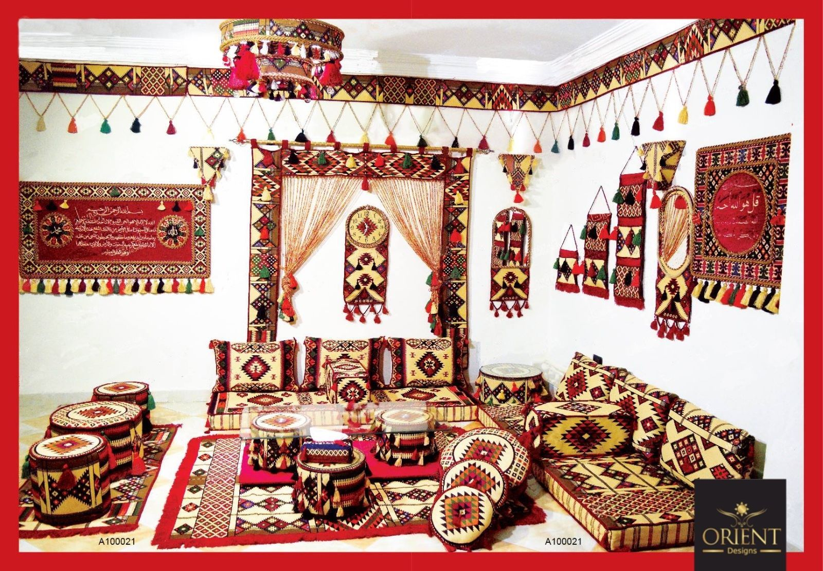 Orientalische Sitzecke Orientalisches Sofa Bodenkissen Sitzgruppe Sitzkissen Floor Cushions Modern Furniture Living Room Decor