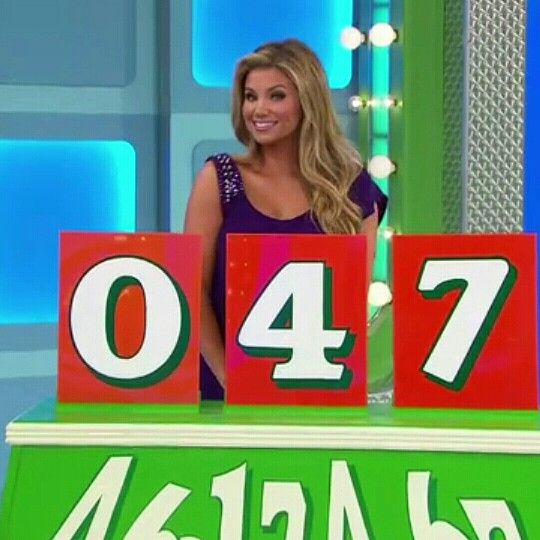 Amber Lancaster - The Price Is Right (12/29/2015) ♥