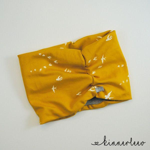 Schals - Bio-Baby Loop Schal **Schwalbe** - ein Designerstück von kinnerleev bei DaWanda