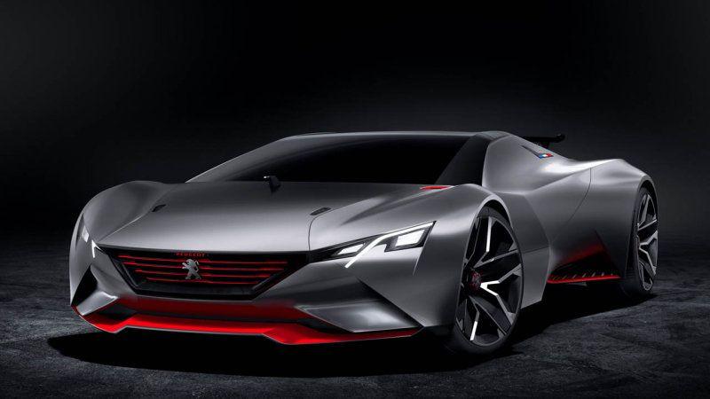 Peugeot unleashes bonkers Vision Gran Turismo concept [w/video]
