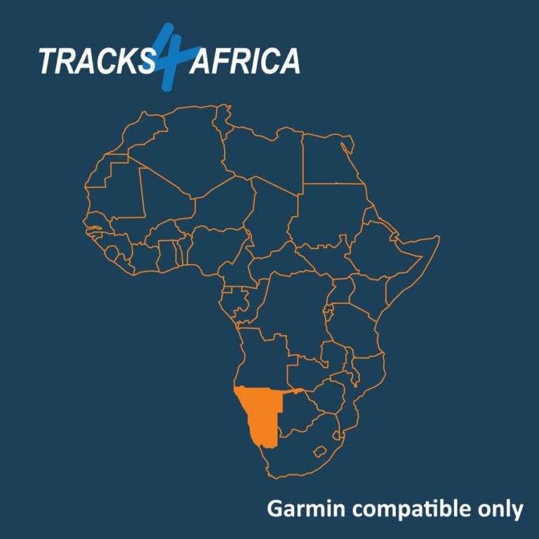 Namibia Garmin GPS Map Download v20.03 (avec images
