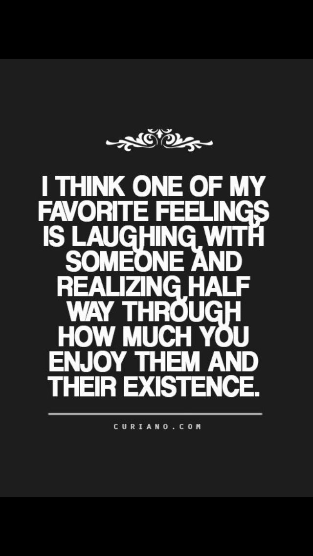 I love laughter! The