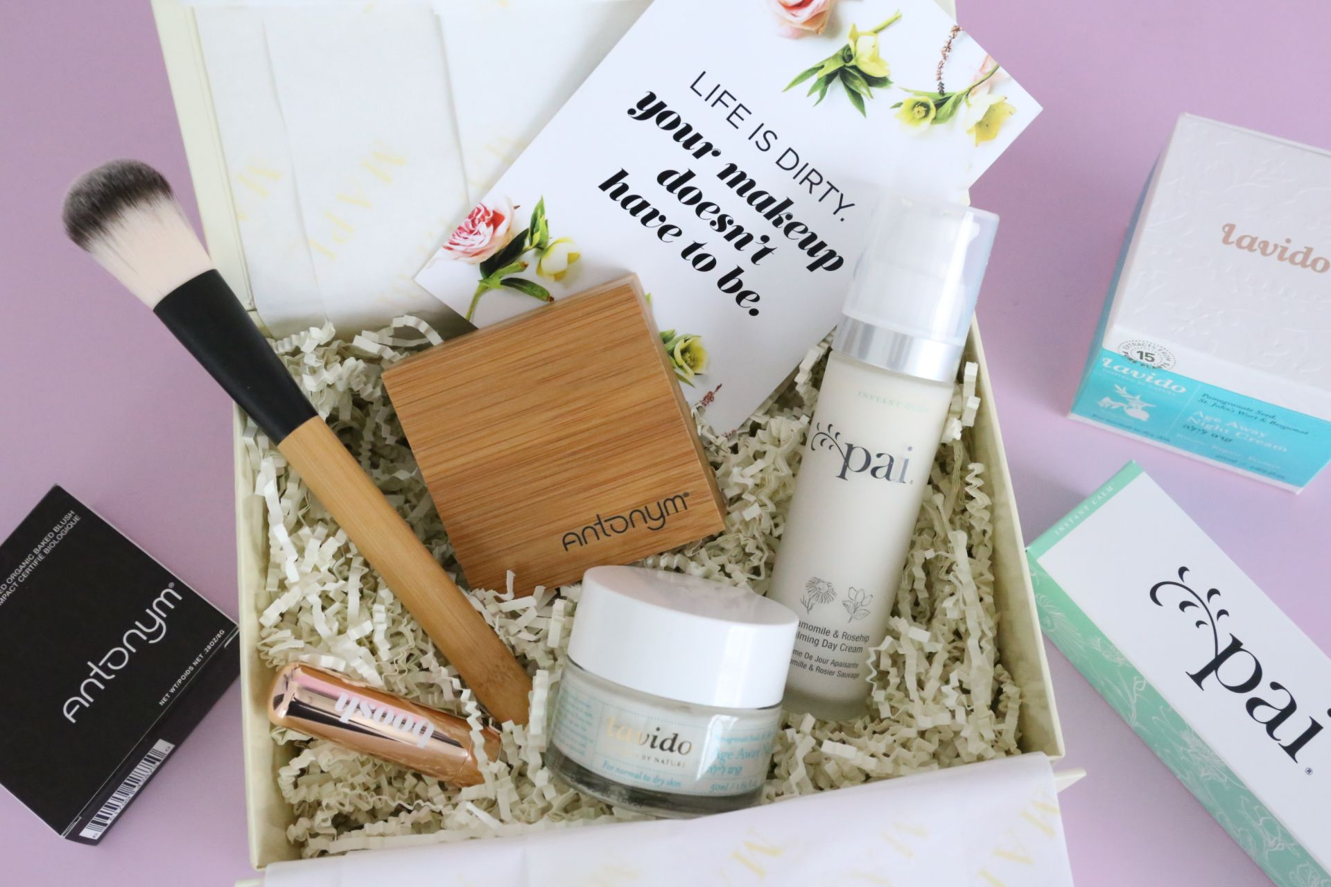 Mapleblume Review February 2018 Beauty box subscriptions