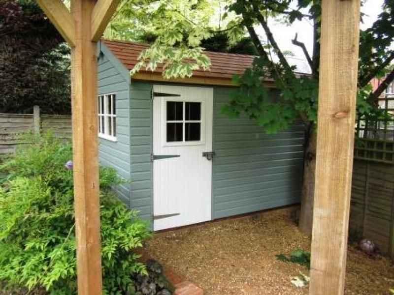 Georgian Style Garden Shed At Crane Sheds And Summerhouses We Offer A Wide  Range Of Colour