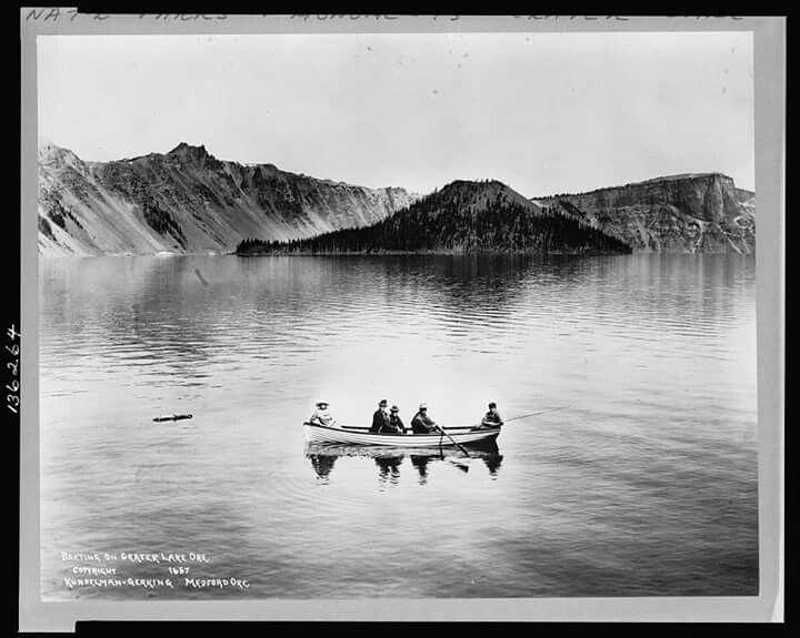Crater Lake 1912