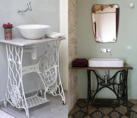 Y que tal como mueble de ba o tienen debajo el espacio for El mueble banos pequenos