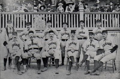 The Chicago White Stockings Later Cubs 1889 Lake Park Grounds Grant Park Chicago Grant Park Chicago Events Chicago Photos