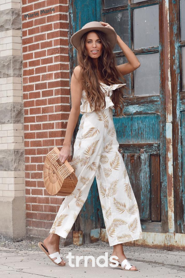Casual Jumpsuit outfit for summer 2019 #casualjumpsuit