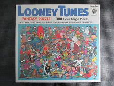 Vintage Looney Tunes Fantasy Jigsaw Puzzle 300 Large Pcs 1981 New Sealed Bugs Looney Tunes Looney Jigsaw Puzzles