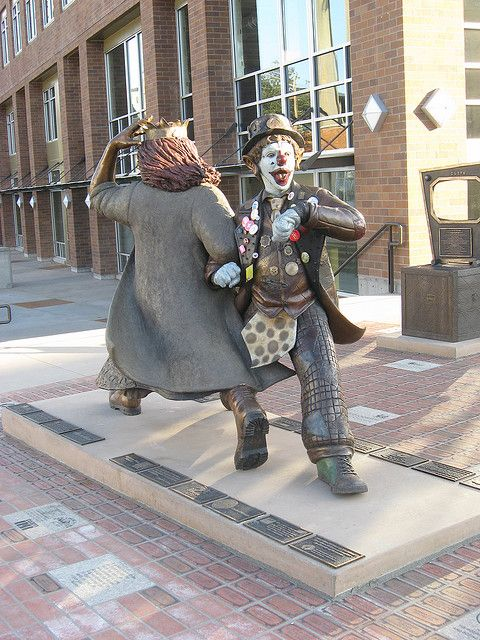 J.P. Patches & Gertrude Statue