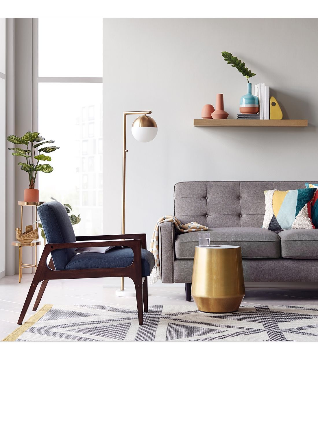 Mid-century Modern Furniture & Decor : Target   Living ...
