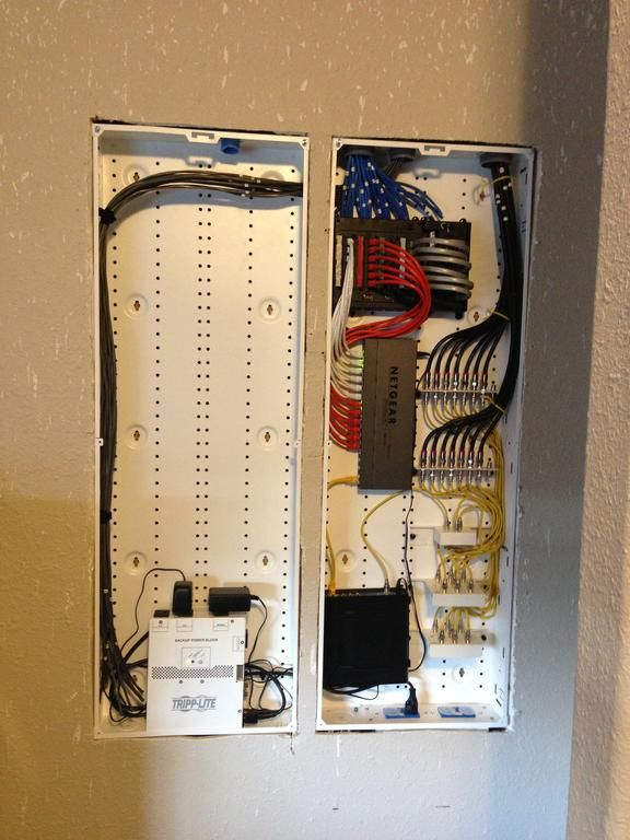 Structured Wiring Retro Install 2