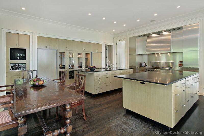 Modern Light Wood Kitchen Cabinets 60 Kitchen Design Ideas