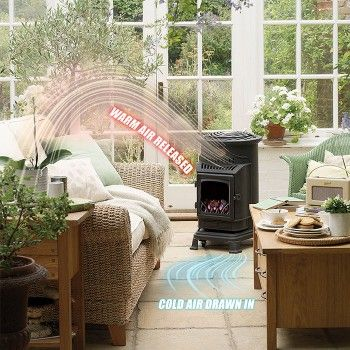 Calor Gas 3kw Honey Glow Brown Provence Portable Gas Heater Portable Gas Heaters Gas Heater Patio Gas