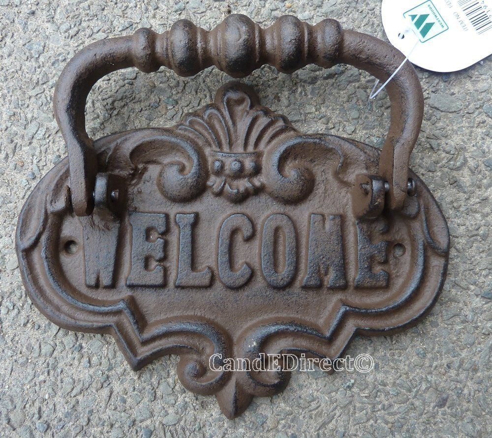 Cast Iron Decorative Door Knocker Design NEW