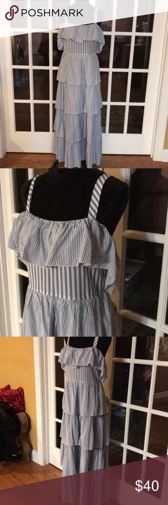 Nwt Victoria Secret Maxi Dress Maxi Dress Clothes Design Dresses [ 1740 x 580 Pixel ]