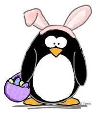 Happy easter penguins pinterest happy easter bird quilt and penguins t shirts and penguin gifts for penguin collectors exclusive penguin characters by jgoode negle Image collections