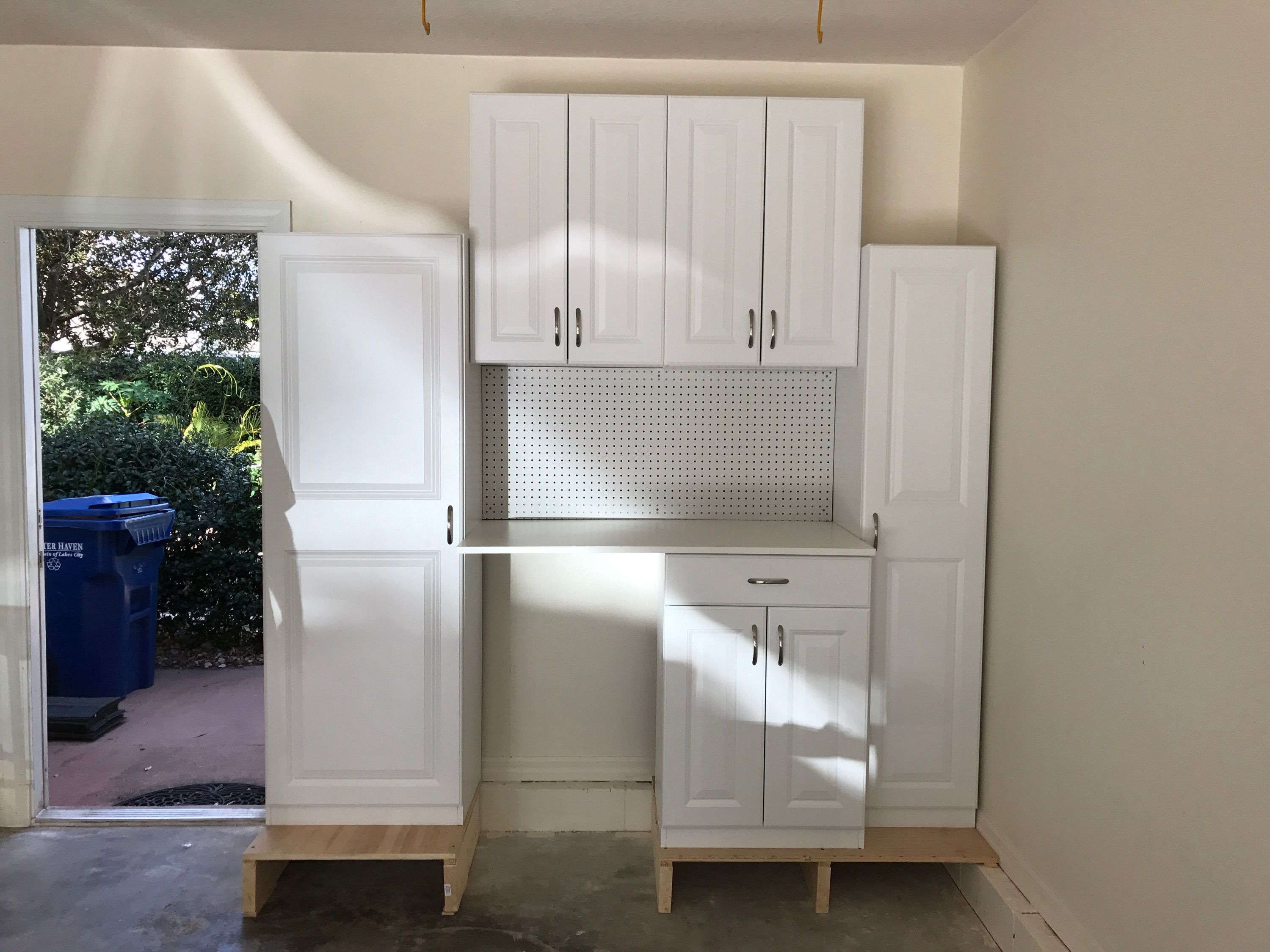 Estate Cabinets By Rsi From Lowe S Nice Storage Cabinets In My Garage Laundry Room Storage Cabinet Laundry Room Storage Garage Laundry