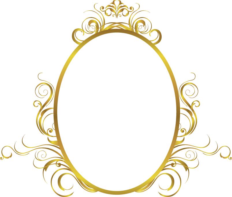Pin De Sabrina Costa Em Digital Design Arabesco Dourado Png Moldura Oval Molduras Douradas