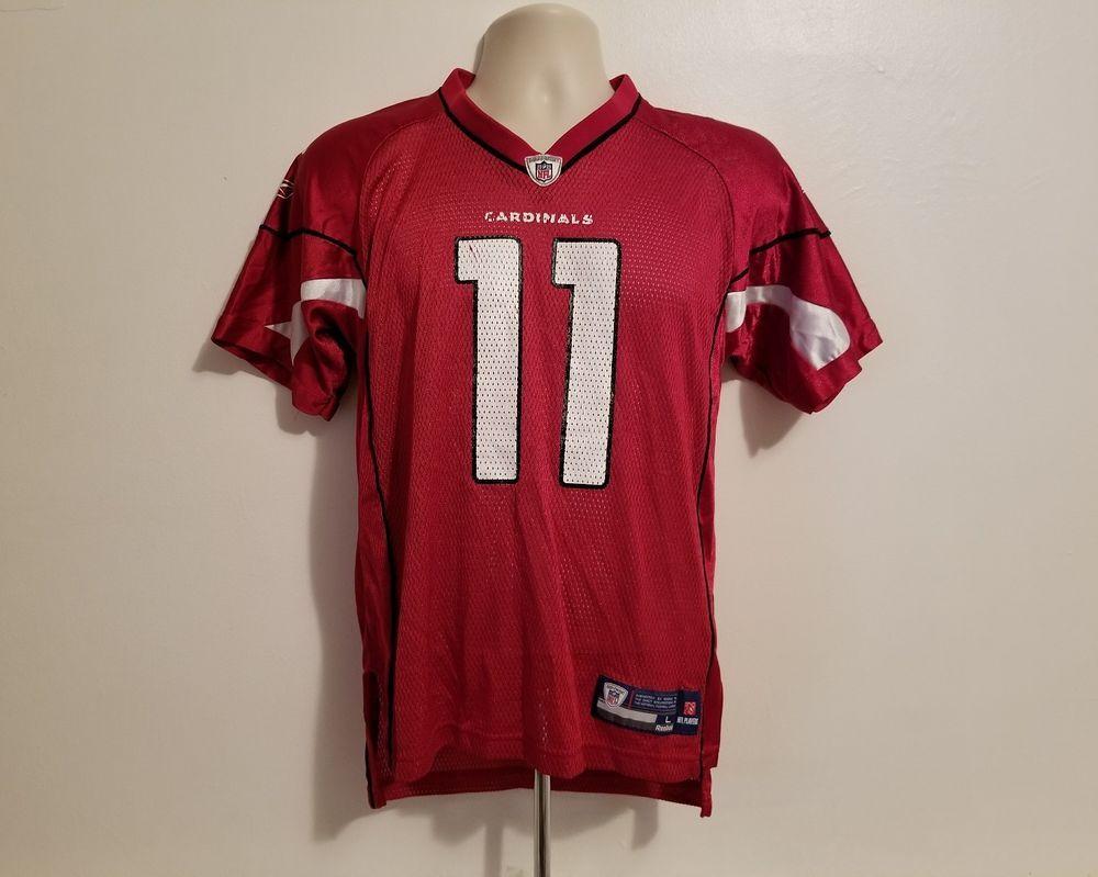 1ba0b4b20b4 Larry Fitzgerald #11 Arizona Cardinals Reebok NFL Large Boys Jersey #Reebok  #ArizonaCardinals