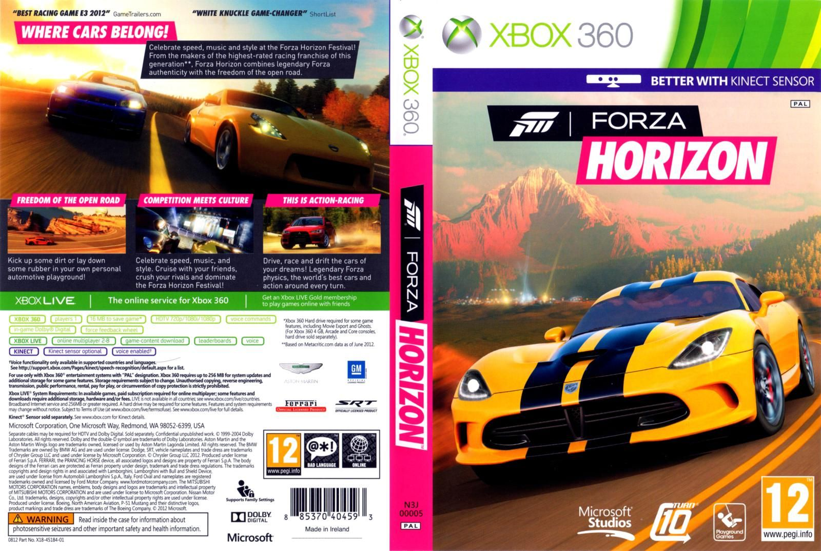 forza horizon xbox 360 forza horizon xbox 360 forza. Black Bedroom Furniture Sets. Home Design Ideas