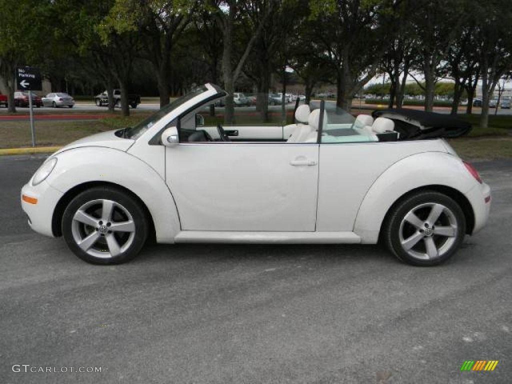 2007 Volkswagen Beetle Convertible Campanella White New Triple
