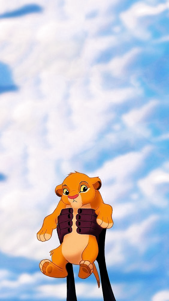 Photo of Presenting-Baby Simba Lock Screen • Telefon Tapete {The Lion King, Disney} #A … – Tiere Wall