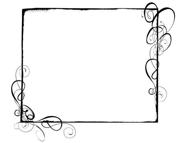Swirl Border Clip Art Borders Free Clip Art Swirl