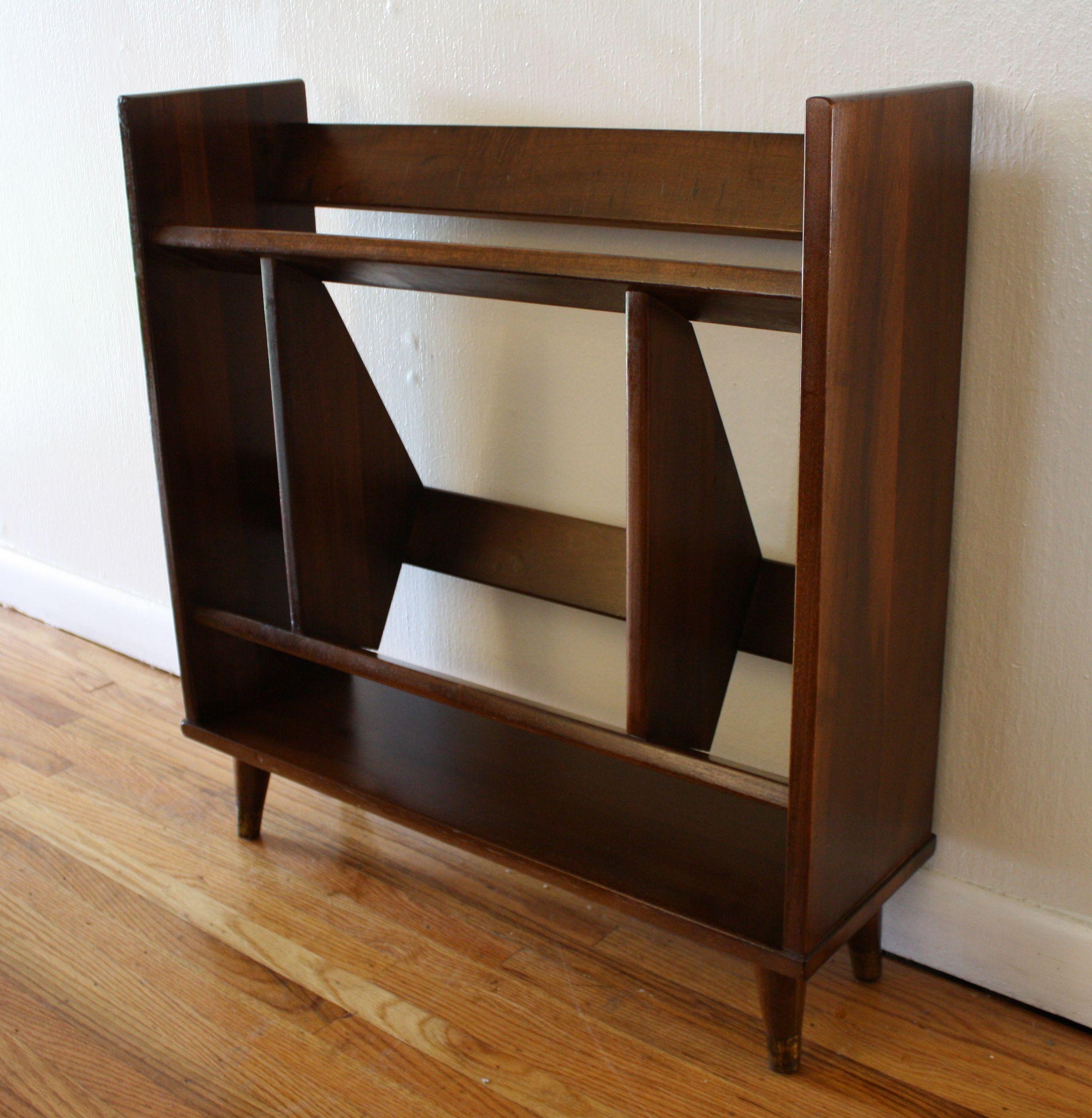 Mid Century Modern Danish Mini Bookcase Bookshelf Design Mid