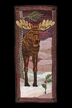 Free Moose Rug Hooking Patterns Bing