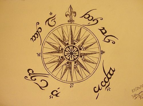 not all who wander are lost in elvish
