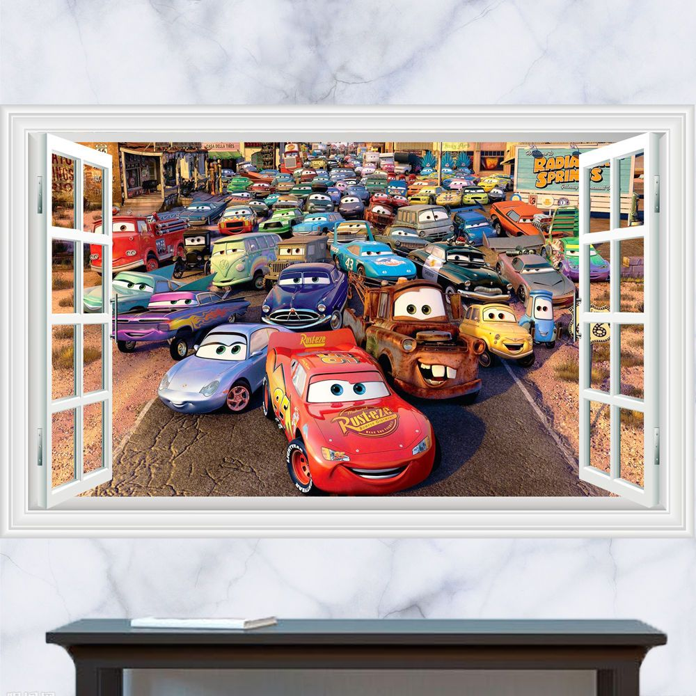 Disney cars lightning mcqueen wall stickers the treasure thrift disney cars lightning mcqueen wall stickers the treasure thrift pixar cars wall stickers pinterest wall sticker lightning mcqueen and lightning amipublicfo Gallery