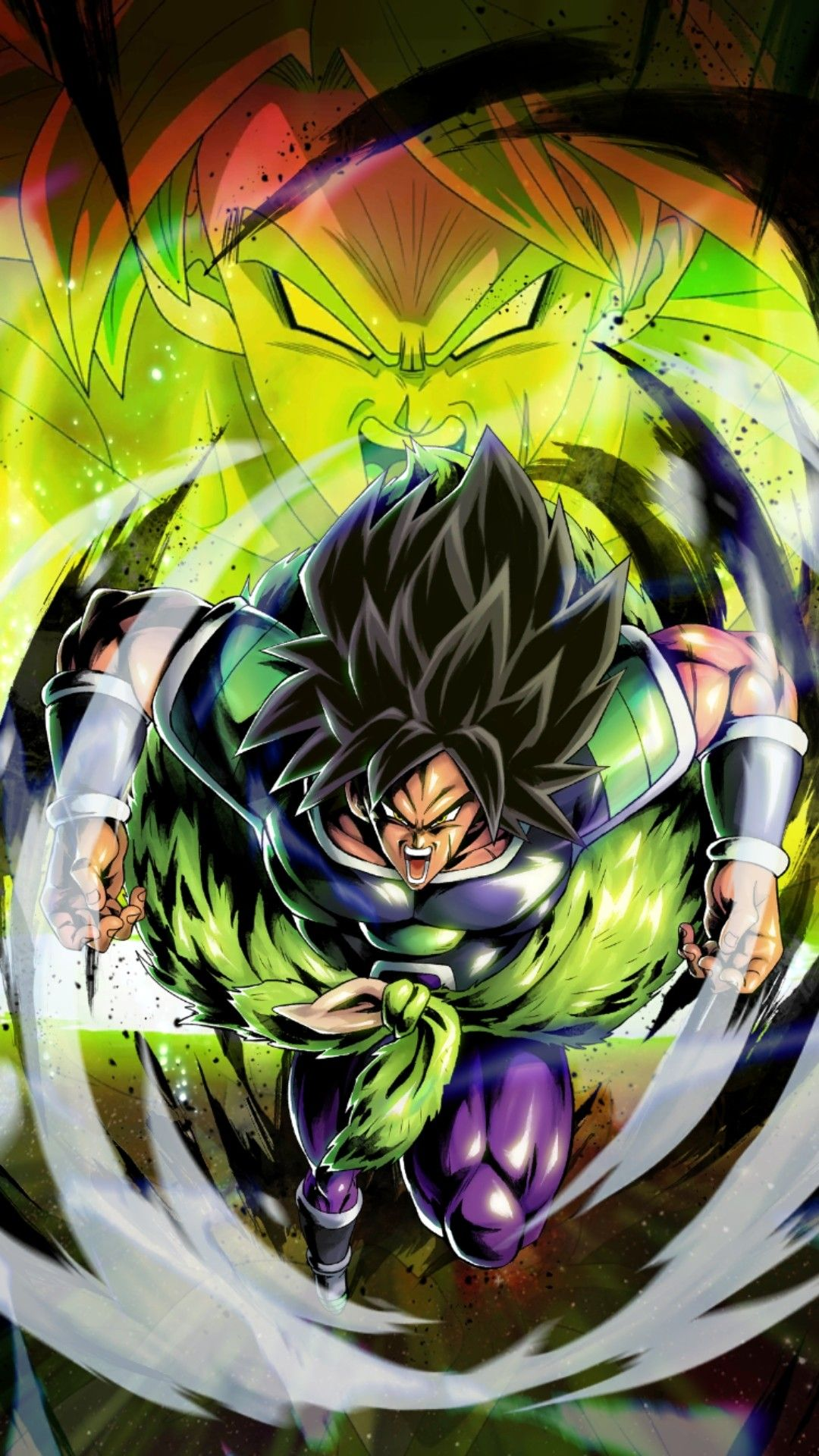Dragon Ball Legends Broly Fury Dragon Ball Super Manga Anime
