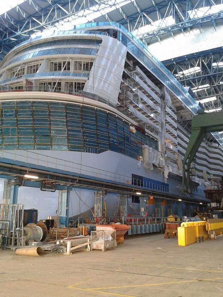 January 16 2015 - New photo of the Anthem of the Seas