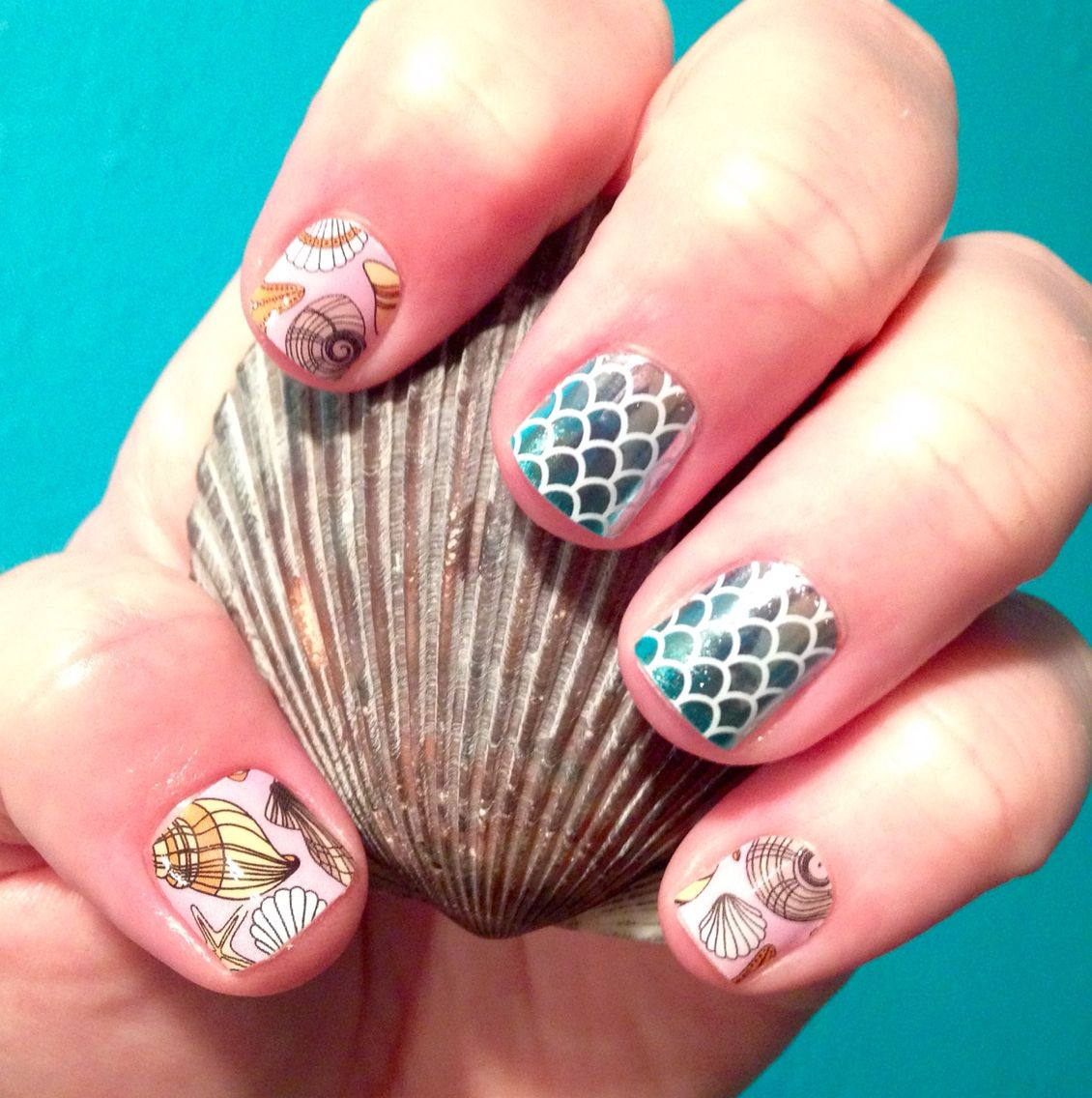 My New Jamicure June Hostess Exclusive Seashells And Mermaid Tales I Love It Order