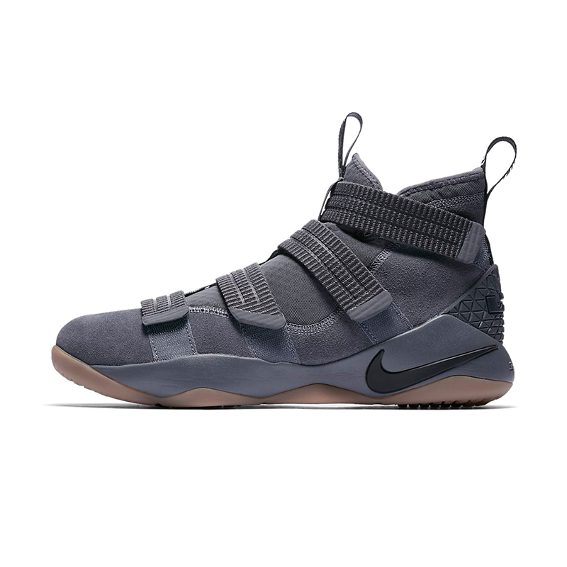 fa04b671188a 897646-003 Nike LeBron Soldier XI SFG Gray Gum Men s Shoes