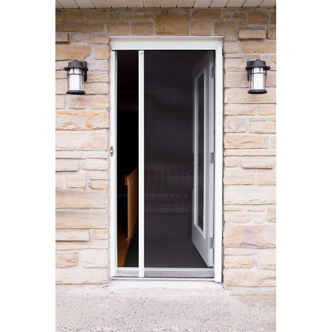 Exceptional Explore Entry Doors, Insects, And More! Moustiquaire Rétractable  Revelation, 36 X 79 ...