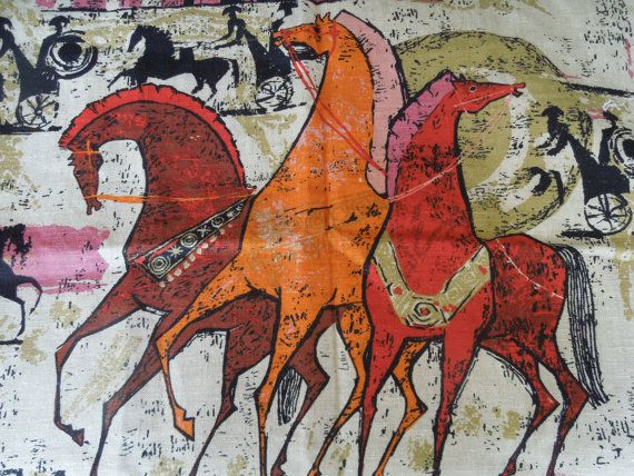 Horse Art Inspiration Ancient Greek Horses In Size Style
