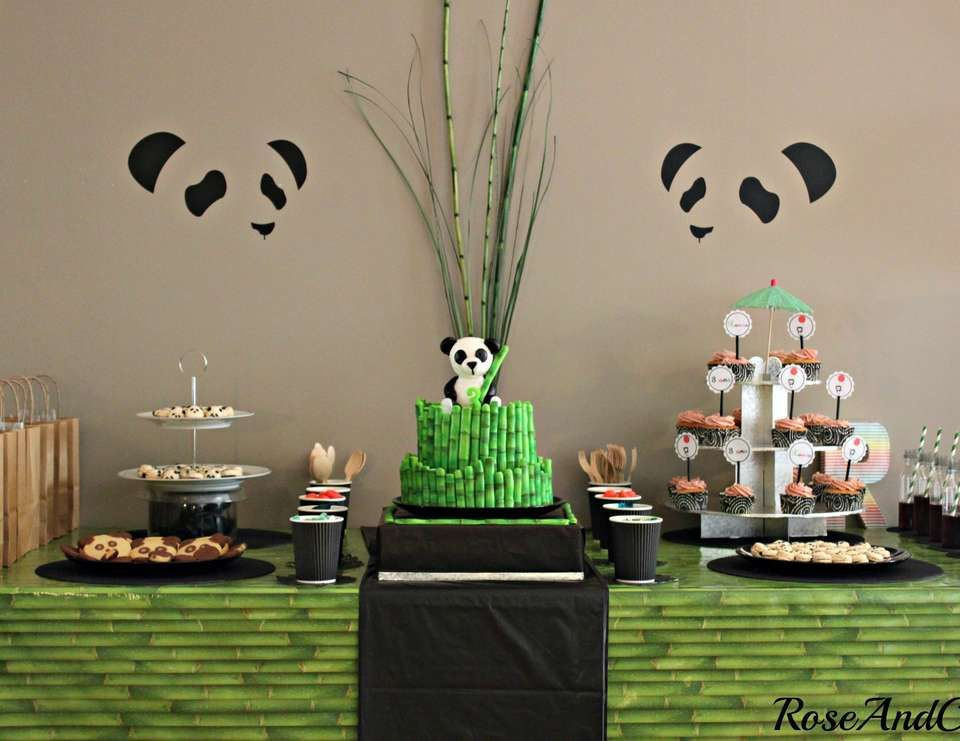 All Things Panda Birthday Quot A Panda Amp Bamboo Party Quot In