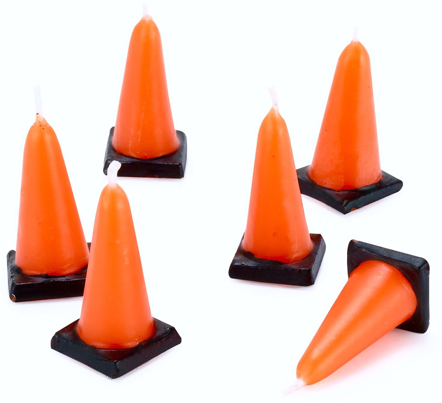Traffic Cone candles TRAFFIC CONES Construction