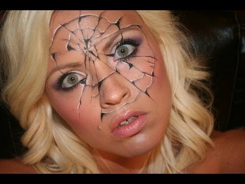 Shattered Cracked Face Painting Tutorial So Cool Face Painting